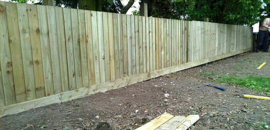 Fencing Project During